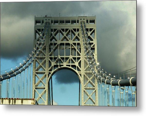 The Bridge Metal Print by Paul SEQUENCE Ferguson             sequence dot net