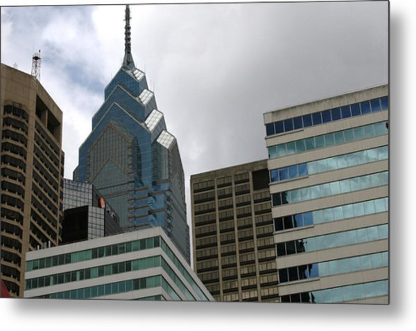 The Building  Metal Print by Paul SEQUENCE Ferguson             sequence dot net