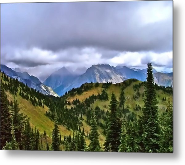The Canadian Rockies Metal Print by Brent Sisson
