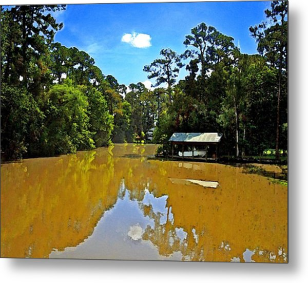 The Cold Hole Metal Print