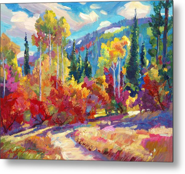 The Colors Of New Hampshire Metal Print