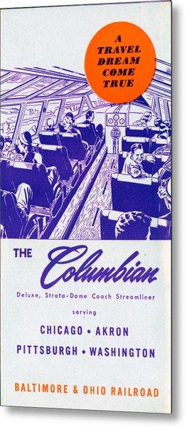 The Columbian Metal Print