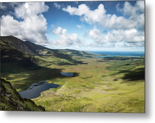 The Conor Pass, Co Kerry. Metal Print