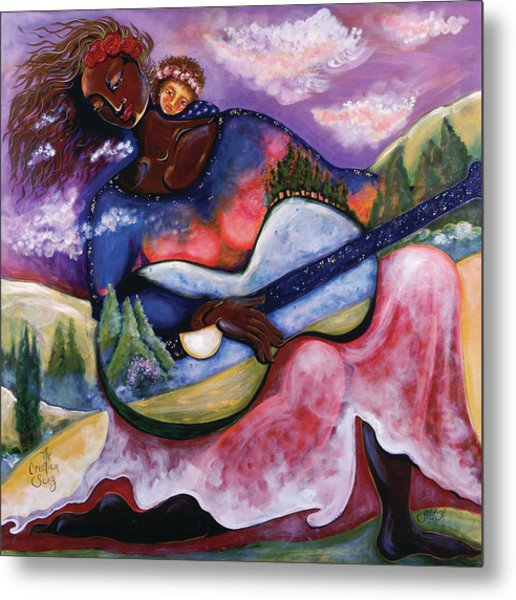 The Creation Song Metal Print