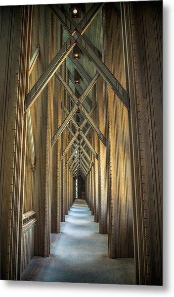 The Doorway Leading To... Metal Print