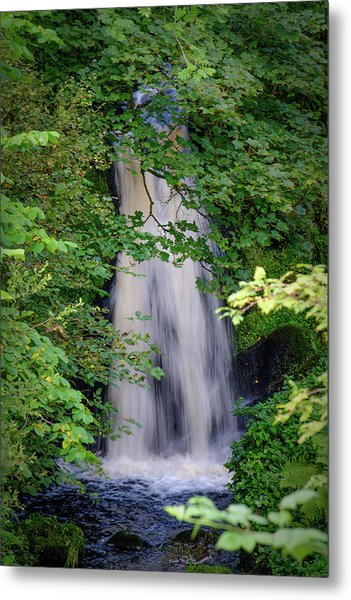 The Falls At Patie's Mill Metal Print