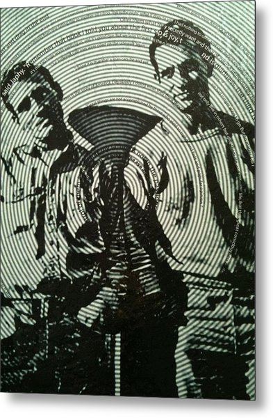The Father Of The Beatniks Jack Kerouac Metal Print