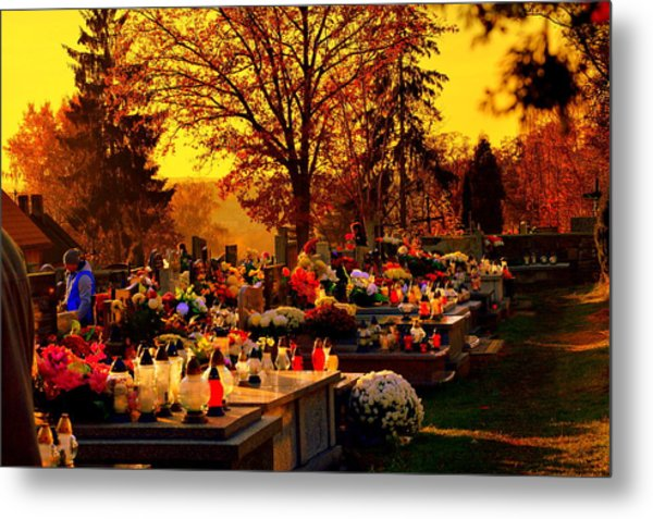 The Feast Of The Dead Metal Print