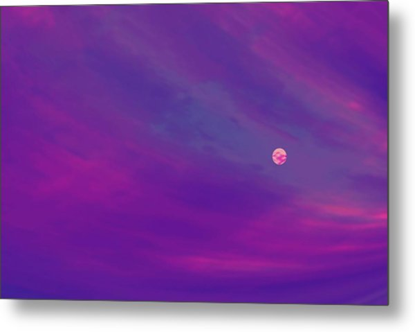 The Flight To Heaven Metal Print by Geoff Simmonds