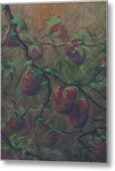 The Forbidden Fruit Metal Print by Kenneth McGarity