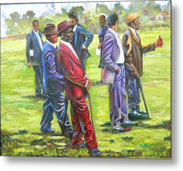 The Gathering Painting By Jeffrey Samuels