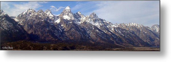 The Grand Tetons Metal Print