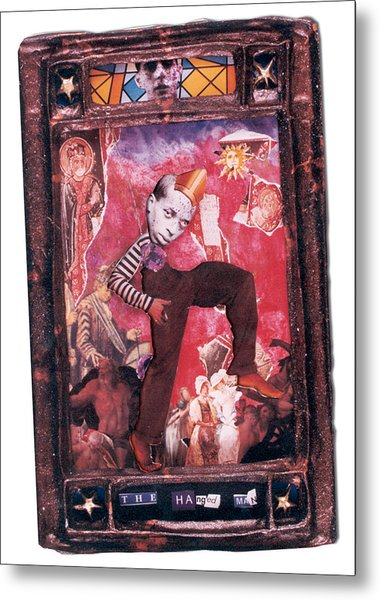 The Hanged Man - Tarot Card Metal Print by Max Scratchmann