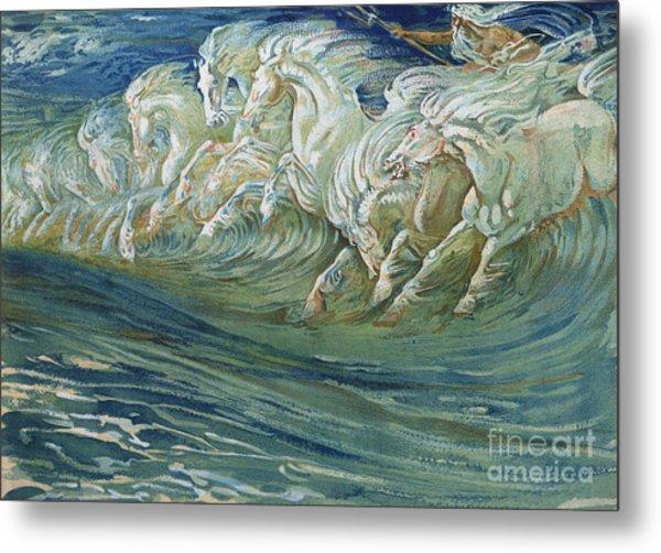 The Horses Of Neptune Metal Print
