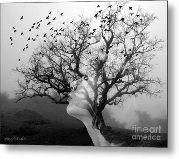 The Hostess Tree Metal Print