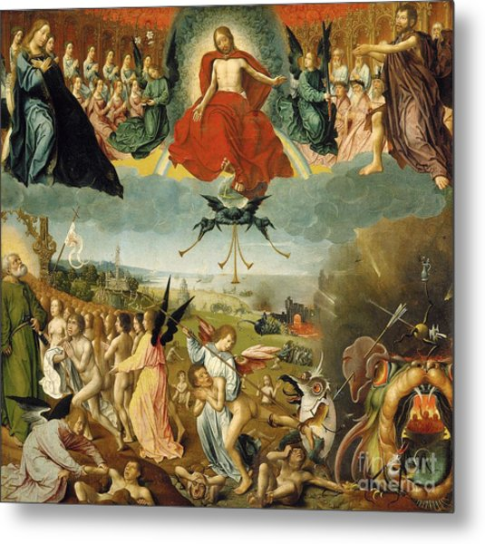 The Last Judgement Metal Print