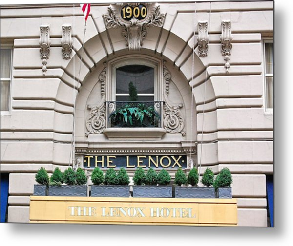 The Lenox Hotel - Boston Ma Metal Print