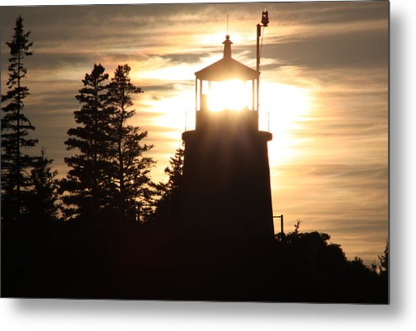 The Light Within Metal Print