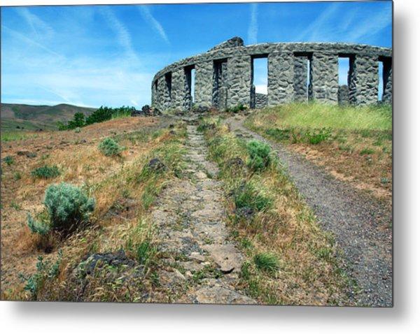 The Maryhill Stonehenge Metal Print