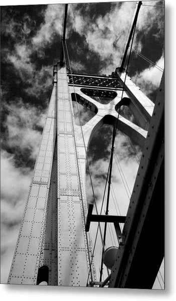 The Mid-hudson Bridge Metal Print