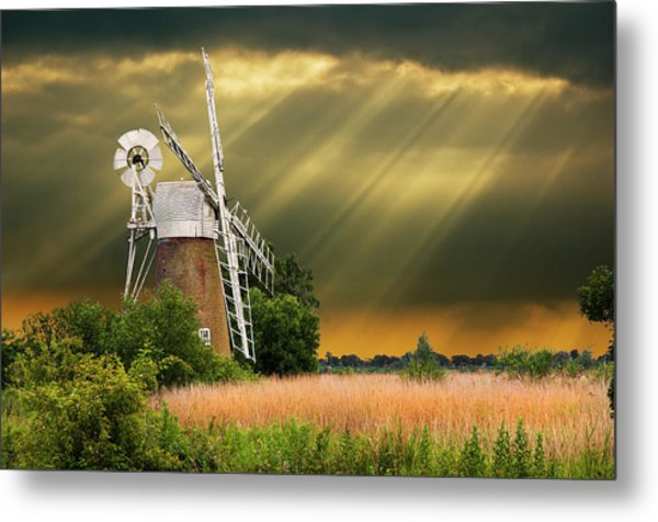 The Mill On The Marsh Metal Print