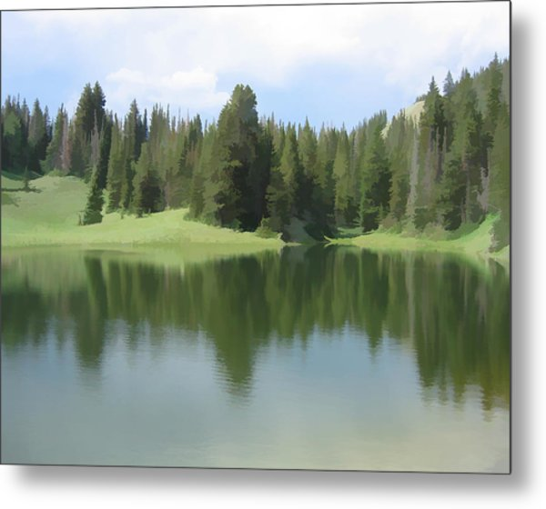 The Morning Calm Metal Print