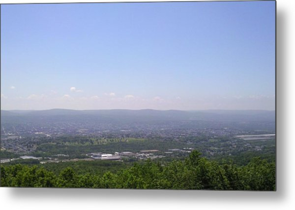 The Mountains View II Metal Print by Daniel Henning