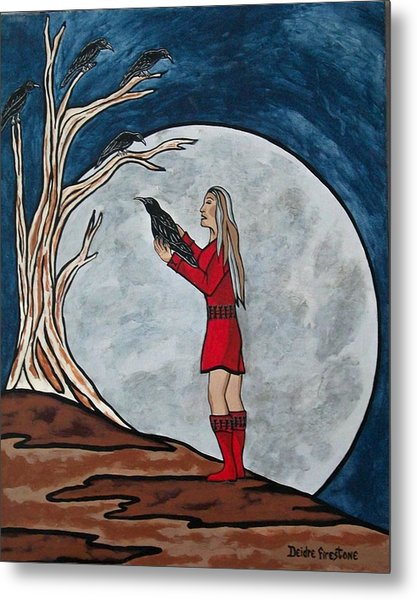 The Mystical Experience Metal Print by Deidre Firestone