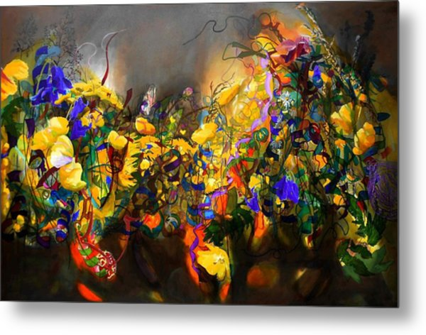 The Neglected Flower Bed Metal Print