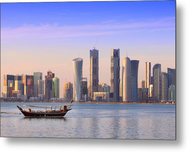 The New Doha Metal Print
