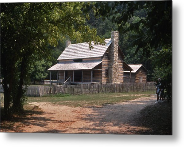 The Old Homeplace - 1 Metal Print by Randy Muir