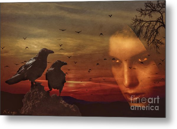 The Omen Metal Print
