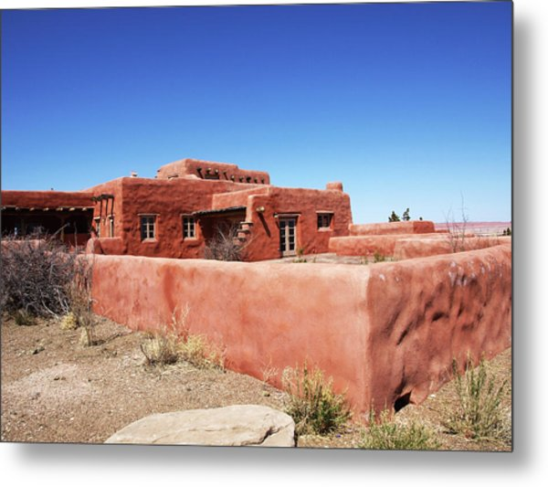The Painted Desert Inn Metal Print