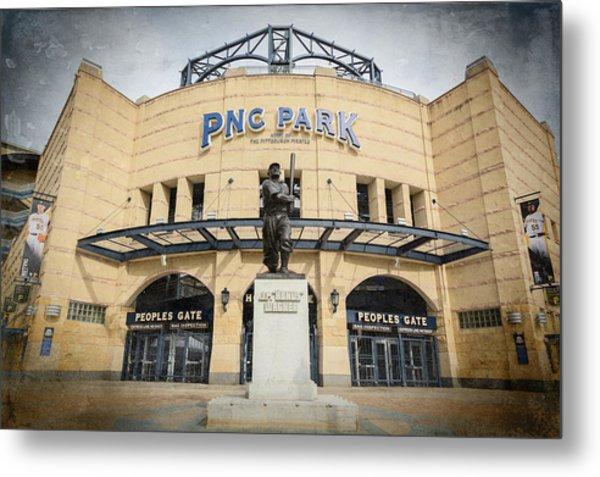 The Peoples Gate - Pnc Park #2 Metal Print