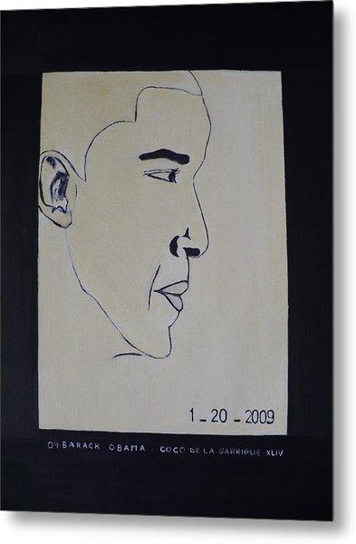 The President Barack Obama. Metal Print by Bucher