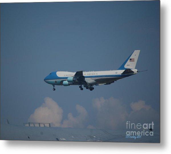 The President's Aircraft Metal Print
