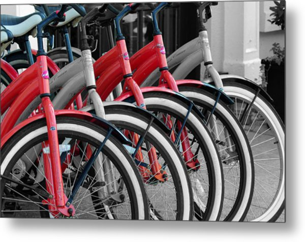 The Red One Metal Print by Don Prioleau