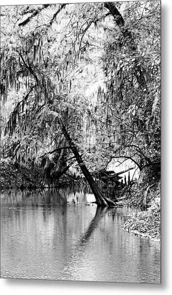 The River Filtered Metal Print