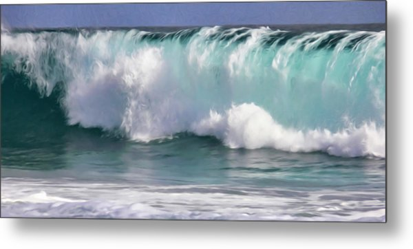 The Rolling Wave Metal Print