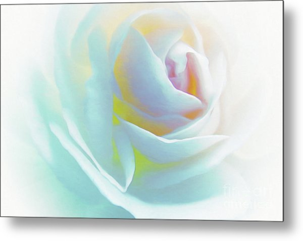 The Rose By Scott Cameron Metal Print