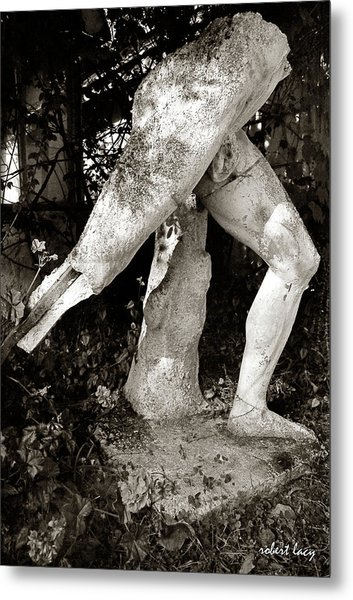 The Sculptor's Garden Metal Print