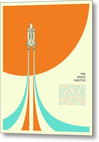 The Space Shuttle Metal Print