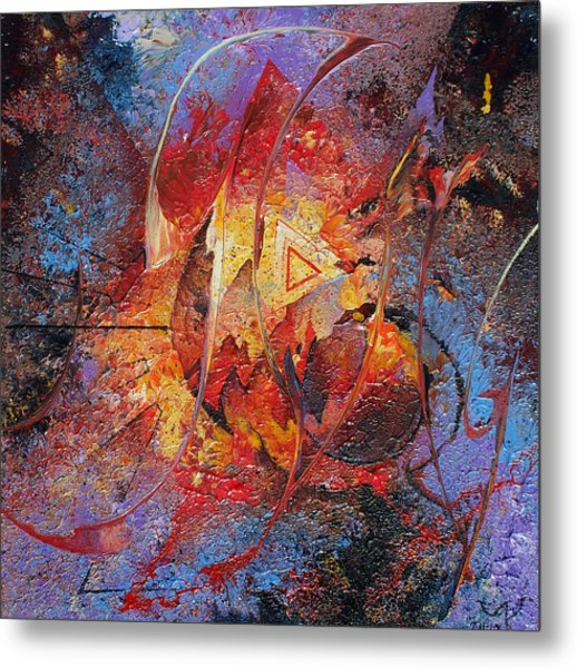 The Tipping Point Metal Print by Fred Wellner