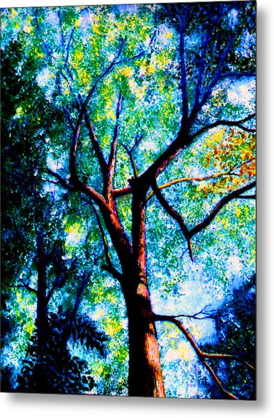 The Tree Metal Print by Stan Hamilton