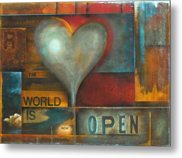 The World Is Now Open Metal Print by Stephen Schubert