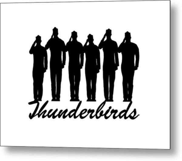 Thunderbirds Pilots Metal Print