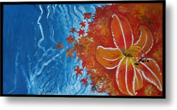 Tiger Lily Metal Print by Alycia Ryan