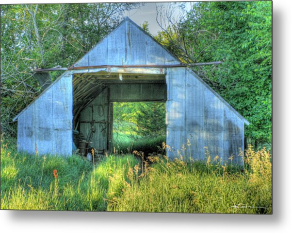 Tin Supply Metal Print