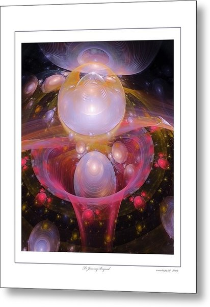 To Journey Beyond Metal Print by Gayle Odsather
