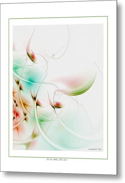 To Look Within The Seed Metal Print by Gayle Odsather